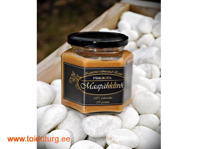 Eestis käsitööma valmistatud maapähklivõid!